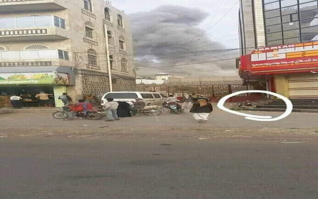 هكذا استقبل سكان صنعاء قصف طيران التحالف لمدينتهم