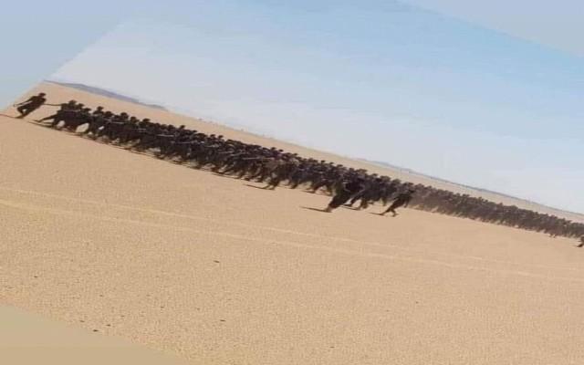 قوات الجيش والامن تفتتح عملية تجنيد بعتق