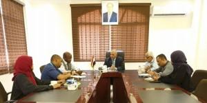 الوزير الشرجبي يبحث مع اليونيسيف تعزيز التعاون في مشاريع المياه والبيئة
