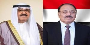 نائب رئيس الجمهورية يهنئ ولي العهد الكويتي باحتفالات بلاده باليوم الوطني