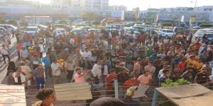 بيان صادر عن الفعالية الاحتجاجية للمطالبة بتوفير الخدمات بعدن