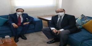 السفير الاصبحي يبحث مع مسؤول مغربي سبل تعزيز التعاون المشترك بين البلدين