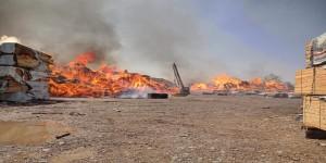 من احرق حوش خشب التاجر حسان بلحج؟