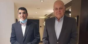 عرجاش يلتقي الأمين العام لاتحاد الجامعات العربية و الأمين العام المساعد لاتحاد مجالس البحث العلمي العربية لمناقشة أوجه التعاون المشتركة
