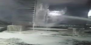اندلاع حريق بمولد بمحطة كهرباء تابعة للانتقالي بعدن