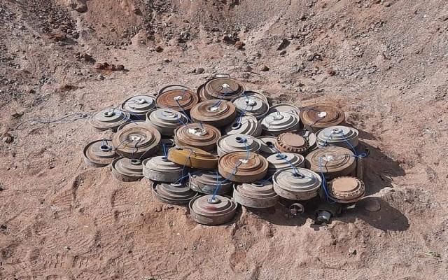 تدمير 1810 ألغام زرعتها ميليشيا الحوثي في الساحل الغربي