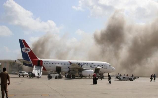 رئيسة اللجنة الوطنية للمرأة بأبين تدين التفجير الارهابي الذي استهدف الحكومة في مطار عدن