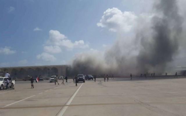 نقابة المهن التعليمية والتربوية تدين الهجوم الغادر على مطار عدن