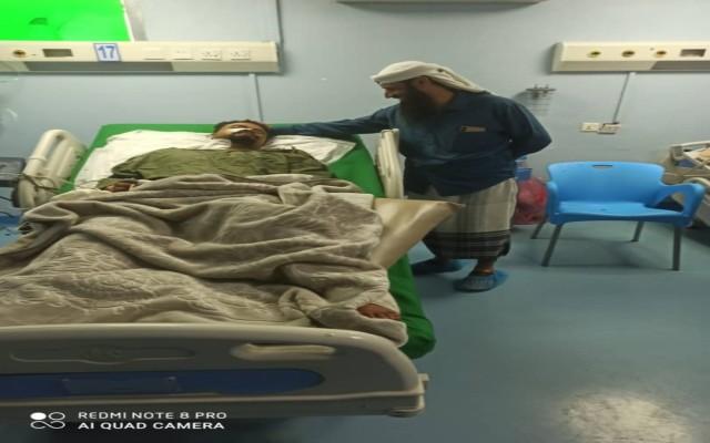 قائد قوات الدعم والإسناد يزور مدير سجن المنصورة نقيب اليهري للإطمئنان على صحته