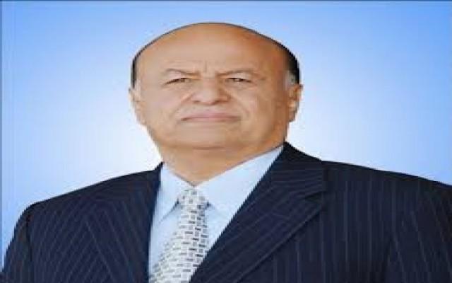 الرئيس هادي يهنئ رئيس مجلس السيادة السوداني بذكرى الاستقلال