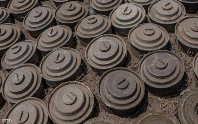 8 آلاف قتيل بألغام الحوثيين
