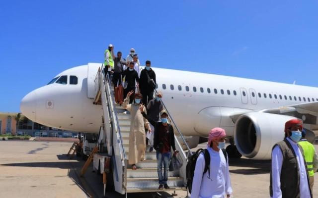 """شركة طيران """"فلاي سكاي"""" تدشن أولى رحلاتها من مطار دبي الى مطار عدن الدولي"""